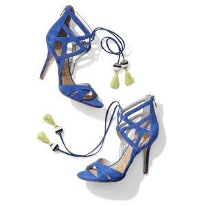 Sam Edelman Azela Lace Up Tassel Sandals